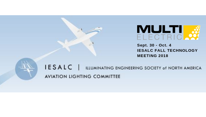 Join Multi Electric at the Annual IESALC Fall Technology Meeting 2018! Sept. 30 – Oct.4