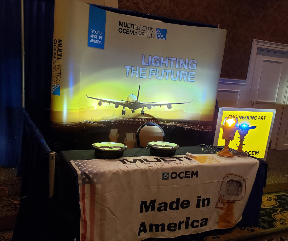 Thanks to everyone who came to visit us at NEC/AAAE Airports Conference